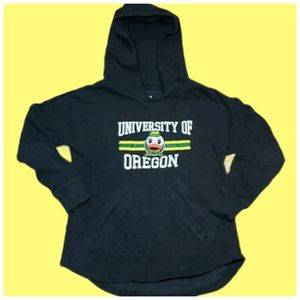 U of O - Green Youth Pullover Hoodie Size Medium …